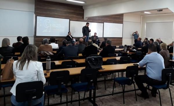 A Associação Gaúcha de Consórcios Públicos realiza a primeira reunião interiorizada
