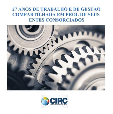 27 ANOS DE TRABALHO E DE GESTÃO COMPARTILHADA EM PROL DE SEUS ENTES CONSORCIADOS